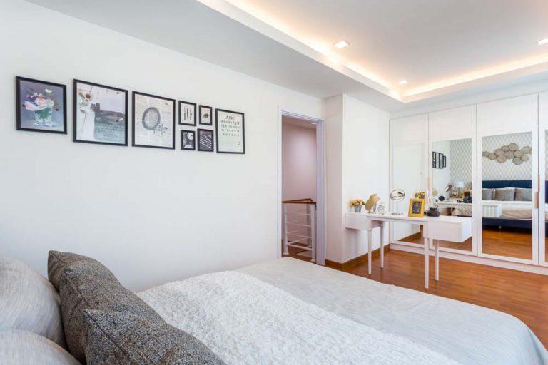 Cherish ห้องนอน Master bedroom ทาวน์โฮม Lio Bliss รัตนาธิเบศร์-บางใหญ่3