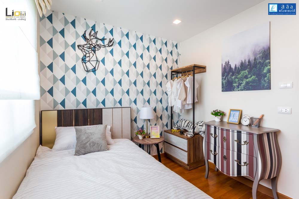 Cherish ห้องนอนที่2 ทาวน์โฮม Lio Bliss รัตนาธิเบศร์-บางใหญ่1