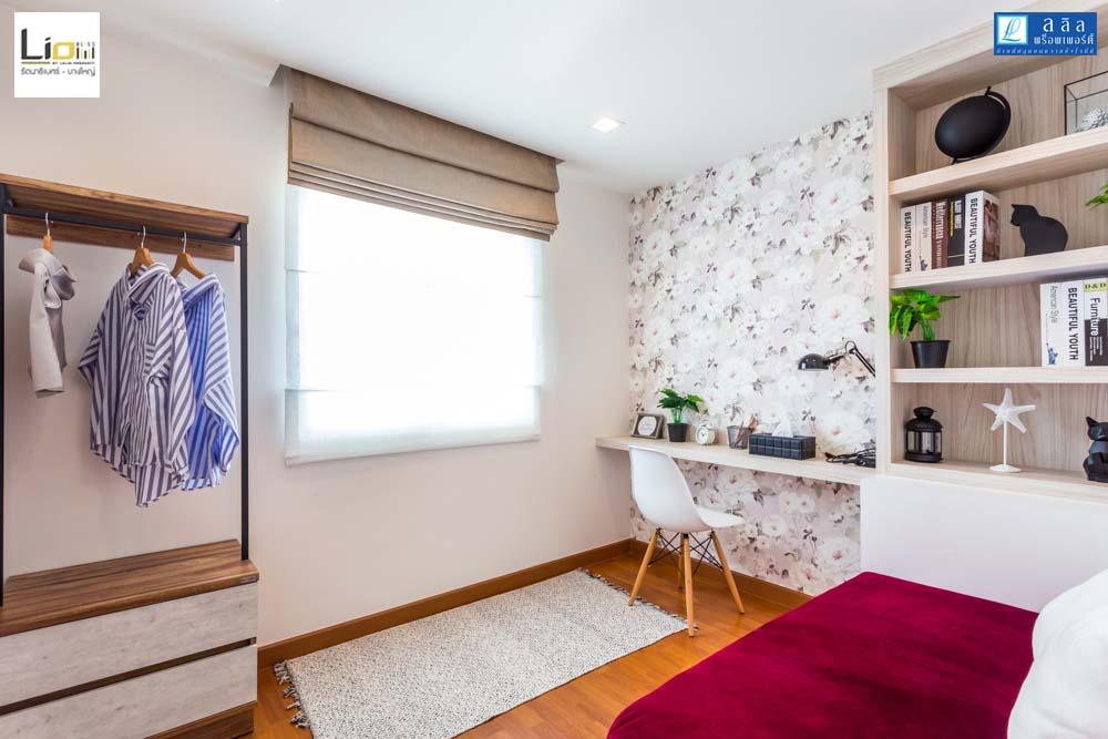 Cher ห้องนอนที่3 Master bedroom ทาวน์โฮม Lio Bliss รัตนาธิเบศร์-บางใหญ่