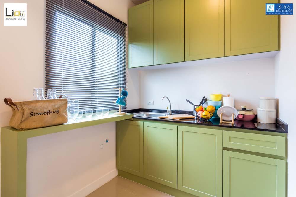 Cherish ห้องครัวโครงการทาวน์โฮม Lio Bliss รัตนาธิเบศร์-บางใหญ่