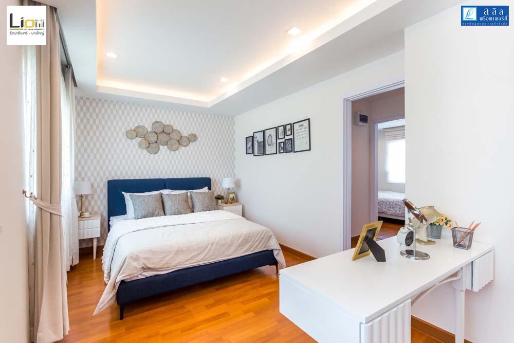 Cherish ห้องนอน Master bedroom ทาวน์โฮม Lio Bliss รัตนาธิเบศร์-บางใหญ่1
