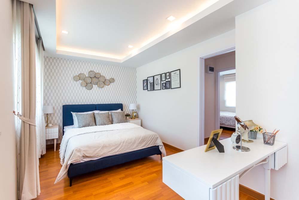 Cherish ห้องนอน Master bedroom ทาวน์โฮม Lio Bliss รัตนาธิเบศร์-บางใหญ่2